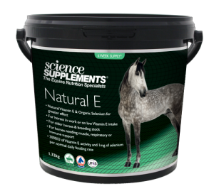 Natural E 1.32kg - Horse Natural Vitamin E & Selenium Supplement